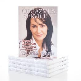 ORGAZMUS SERVICE könyv