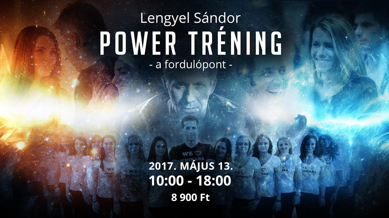POWER Tréning – A Fordulópont